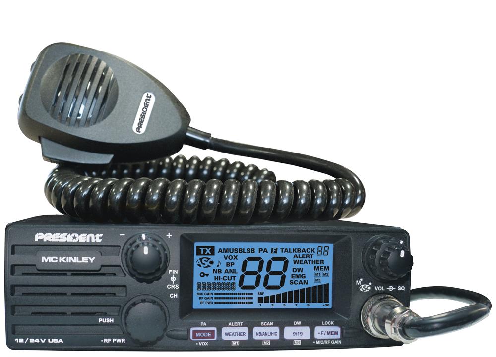President Mckinley Ii. Mobile Cb Radio Mc Kinley Usa 1224v Orange. Wiring. President Cb Radios Mic Wiring At Scoala.co